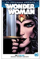 Cover for Wonder Woman Vol. 1: The Lies