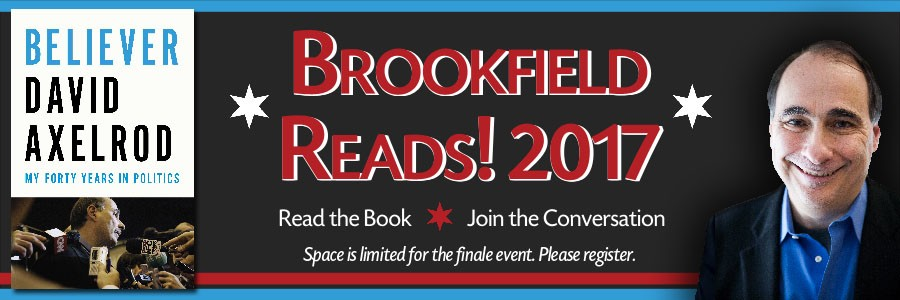 Brookfield Reads featuring Believer by David Axelrod