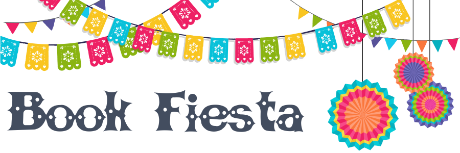 Book FIesta text with decorations