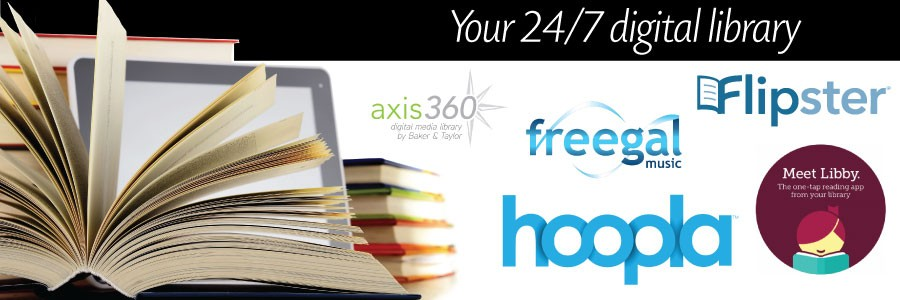 books tablet, hoopla, flipster, libby, freegal, axis360