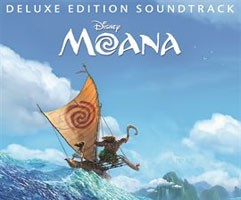 Cover for Deluxe Edition Soundtrack Disney Moana