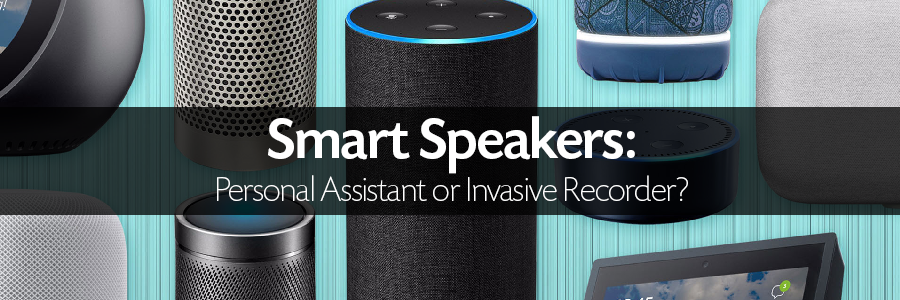 Image of various smart speakers