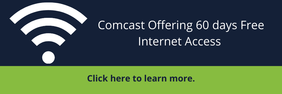 Comcast Offering 60 Days Free Internet Access to Low-Income Homes