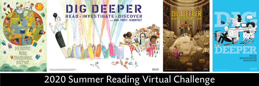 Dig Deeper Summer Reading Virtual Challenge