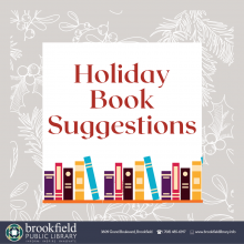 Holiday Book Suggestions