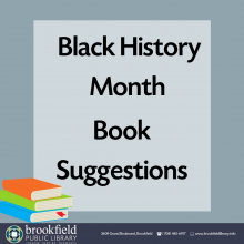 Black History Month Book Suggestions