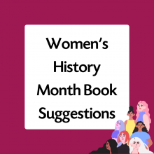 Women's History Month Book Suggestions