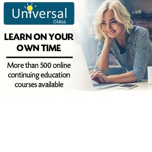 Universal Class: Learn on your own time. More than 500 continuing education courses available